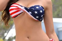 Charmr's ♦Patriotic & Sexy!♦ / Beautiful ladies in red, white & blue... No nudity, bare nips/buns & no short pins...