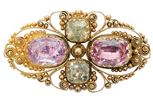 Jewelled Vintage Brooches