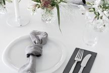 Dukning {table settings}