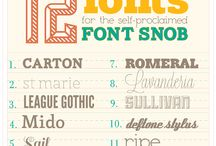Fonts / Because two words:  Comic Sans. / by Debbie Aldridge