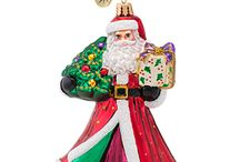 Brilliant Treasures / Smaller than Classic Sized but larger than Little Gems, these sparkling, hand-painted glass ornaments will light up your Christmas tree like no other!