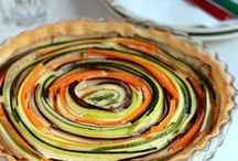 pastel verduras