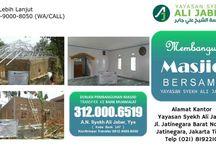 INFO WA/Telp +62 812-9000-8050 rekening pembangunan masjid, shadaqah masjid, bersedekah untuk masjid
