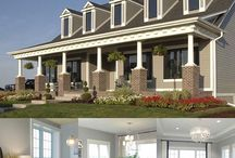 Colonial, Cape Cod, Classical Style Homes / www.windsorwindows.com / by Windsor Windows & Doors