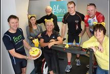 Children in Need 2014 / This year we completed an 'Office Ironman' for Children in Need!   We managed to complete the whole distance of 2.4 miles on a rowing machine, 112 miles on a Watt bike and 26.2 miles on a treadmill all within the space of our office on the 14th November.  We have raised over £500 for this great cause!