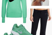 Cute workout clothes / by Karri Ramsey Jackson