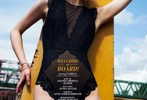 Welcome on board/Marie Claire online
