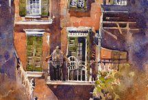 Art - Watercolor - Stewart, I