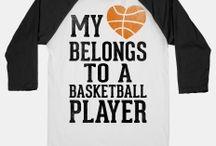 Basketball girlfriend shirts