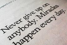 inspirational & uplifting