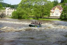 River rafting in Czech Republic