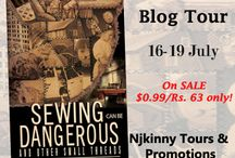 Blog Tour: Sewing Can Be Dangerous And Other Small Threads by S.R. Mallery (16-19 July)