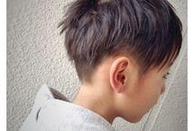 男の子髪形