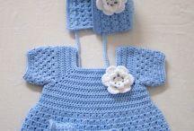 bebek ve çocuk örgü işleri (crochet baby and child) / by Sibel Erkaraman