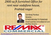 Furnished office for rent in prahlad nagar corporate road near vodafone house