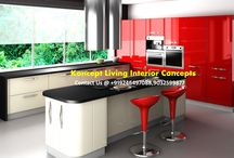 Top Interiors in Hyderabad /  Koncept Living Interior Concepts is a professional interior design company operating from Hyderabad. They are known for their stylish, contemporary and urbane designs. Their work includes designs for Residential, Retail, Commercial and Hospitality. They serve elite customers belonging to luxury, high- end luxury and ultra luxury segments. Their completed projects include high-end villas, grand luxury apartments and ultra modern corporate office spaces.