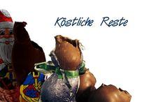 Der letzte Rest vom Küchenfest / Köstliches aus Resten. Ob angebknabberter Schokoladenweihnachtsmann, Hoppelpoppel oder armer Ritter: geschmackvoll satt werden aus Küchenresten.
