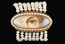 Lover's Eye Jewelry / 1800's eye jewelry - Can it be translated to bead embroidery?