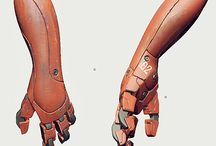 Robotic/hardsurface arms