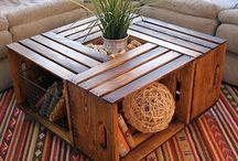 мебель из ящиков