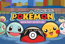 Pokémon Fun! / Calling all Pokémon Trainers! Catch the rarest of Pokémon at the Downtown Norfolk Pokémon Raid and Party on the Plaza NEXT WEDNESDAY, August 3, from 5:30-8:30 pm!