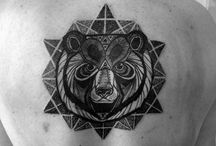 Bear Tattoos / Bear tattoos are another worth considering animal tattoos that you can surely enjoy when these are engraved on your body... http://fabulousdesign.net/bear-tattoos-meanings/