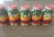 My Mason Jar Salads
