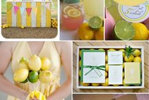 lemonade and sunshine / Lemonade birthday party ideas
