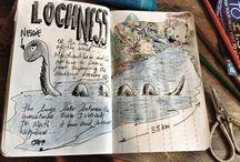 travel scrap book ideas