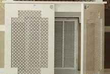 Gas heater covers