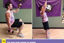 Trx exercises / Workout