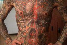 Legend. Of tattoo  / Japanese real Tattoo artist