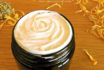 creación de cremas aceites ect