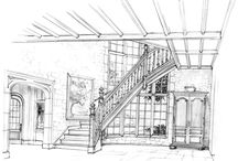 sketch interiors