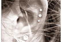 Ear piercings and jewelry / by Courtney Morgan