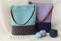 Crochet bags,headwear, shoes and slippers