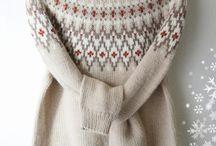 Strikkede gensere