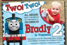 Mateo 3rd Birthday Ideas / Thomas the train engine