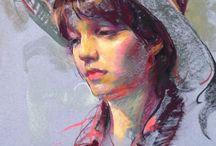 Pastel portrety