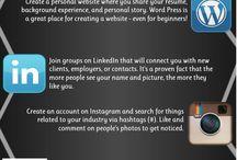Social Media Tips / by Leslie Copeland