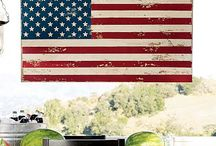 Americana Crafts & Decorating / by Cassie Reagan