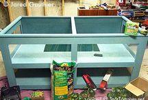 Tortoise tables / Tortoise table habitats / by Susan Melton