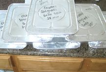Freezer Meals / Once a month cooking