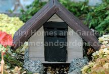 Fairies Go to Summer Camp / Miniature woodland camp accessories for fairy gardens