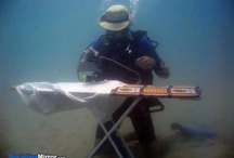 Funny, cool stuff .... and not! / Scuba divers, let's not take ourselves too serious :-)