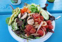 Poke bowl, salades