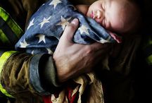 Firefighters n newborns