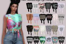 Sims 4 abbigliamento