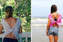 Summer Shirt Transformation / Insanely Easy Way To Transform Your Shirts For Summer >> The Butterfly Tee More at http://goo.gl/3DiJ1A