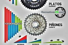 Infografias Ciclismo / Información y datos importantes